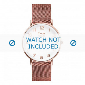Ice Watch correa de reloj 012711 / 012710 / 012709 Metal Rosa 20mm