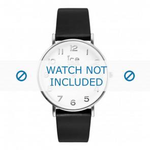 Ice Watch correa de reloj 001502 / CT.BSR.36.L.16 Cuero Negro 18mm