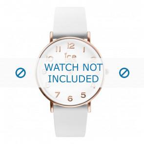 Ice Watch correa de reloj CT.WRG.36.L.16 Cuero Blanco 18mm
