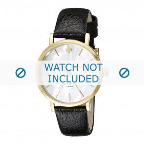 Kate Spade New York correa de reloj 1YRU0010 / MINI METRO Cuero Negro