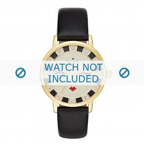 Kate Spade New York correa de reloj KSW1052 / METRO Cuero Negro