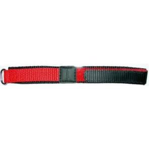 Correa de reloj de velcro 20mm rojo
