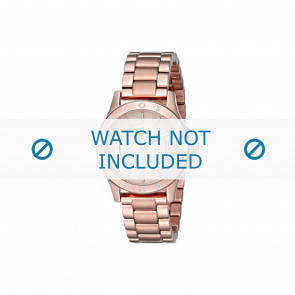 Lacoste correa de reloj 2000851 / LC-75-3-34-2537 Metal Rosa 16mm