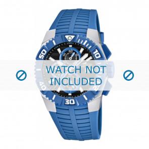 Lotus style correa de reloj 15778.3 Caucho / plástico Azul claro