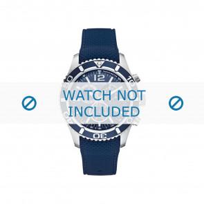 Nautica correa de reloj A15103G Caucho Azul  22mm