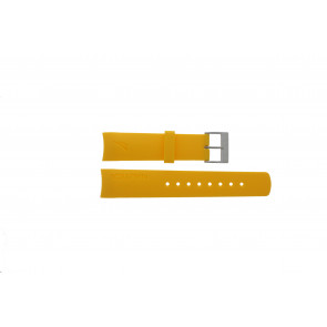 Nautica correa de reloj 31507G Goma Amarillo 22mm