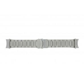 Dutch Forces correa de reloj 35C020204-12750 / 35C020202 / 35C020203 / 35C020205 / 35C020206 Metal Plateado 24mm
