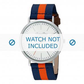 Superdry correa de reloj SYG183UO Nylon / perlón Azul
