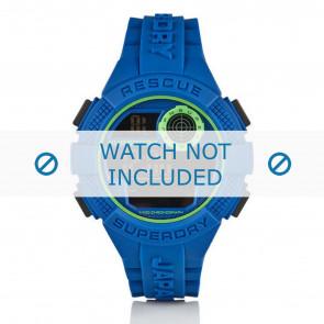 Superdry correa de reloj SYG193U Silicona Azul