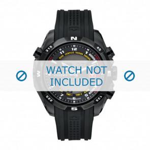 Swiss Military Hanowa correa de reloj 06-4174.13.007 Caucho / plástico Negro 22mm