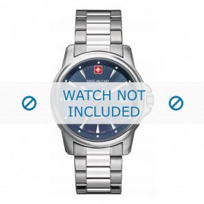Swiss Military Hanowa correa de reloj 06-5230.04.003 Metal Plateado 20mm