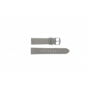 Timex correa de reloj T2N795 Piel Gris 20mm