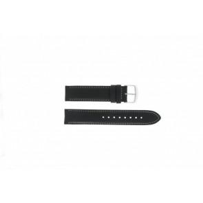 Timex correa de reloj T2N156 Piel Negro 20mm