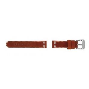 TW Steel correa de reloj TW24 Piel Marrón 22mm