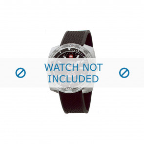 Zodiac correa de reloj ZO3701 Caucho Negro