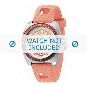 Zodiac correa de reloj ZO2248 Caucho / plástico Naranja