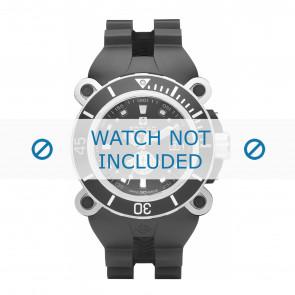 Zodiac correa de reloj ZO8532 Caucho / plástico Negro