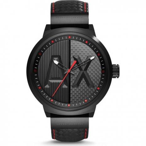 09e10ccbfec Correa de reloj Armani Exchange AX1372 Carbono Negro 20mm