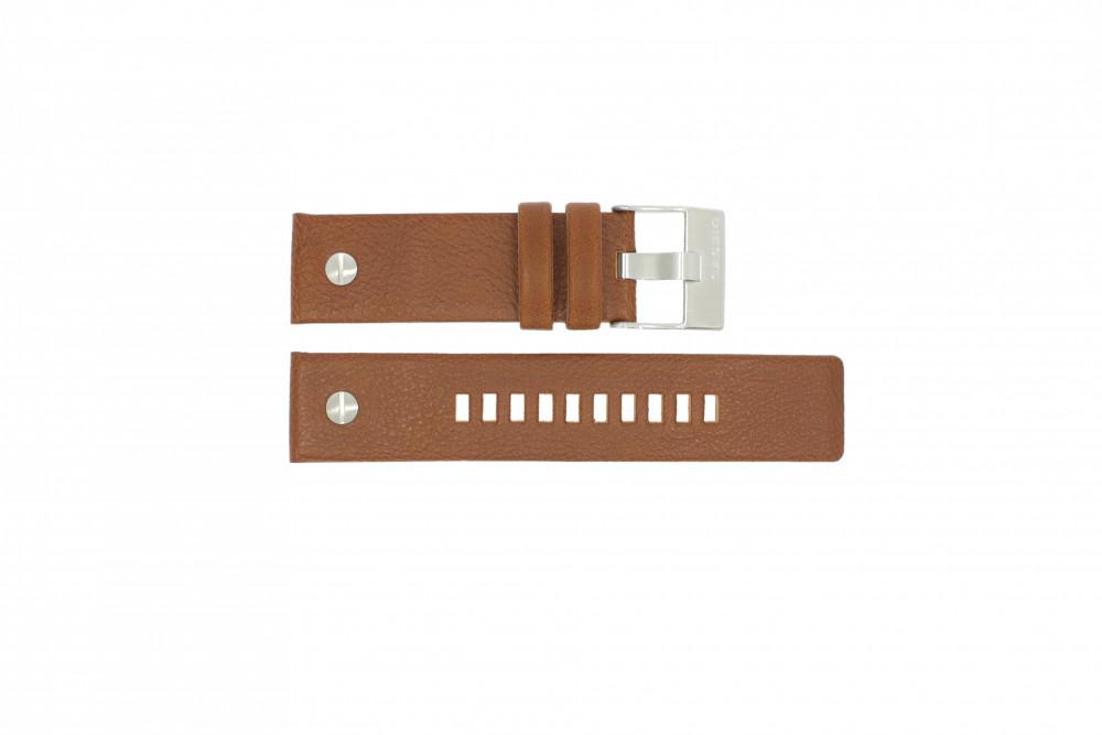 2acde9530510 Correa de reloj Diesel DZ7264 Cuero Marrón 24mm