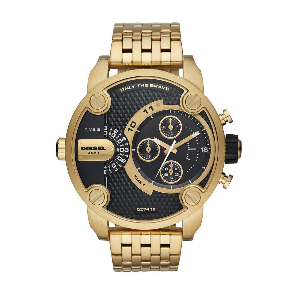 d957909ce0c5 Correa de reloj Diesel DZ7412 Acero Chapado en oro 24mm
