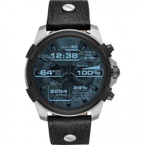 fd147778b0d6 Correa de reloj Diesel DZT2001 Cuero Negro 24mm