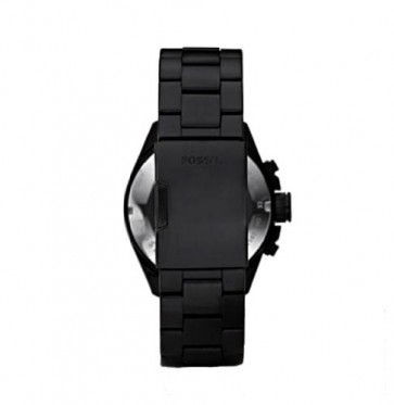 e1a332df8323 Fossil correa de reloj CH2601 Metal Negro 22mm