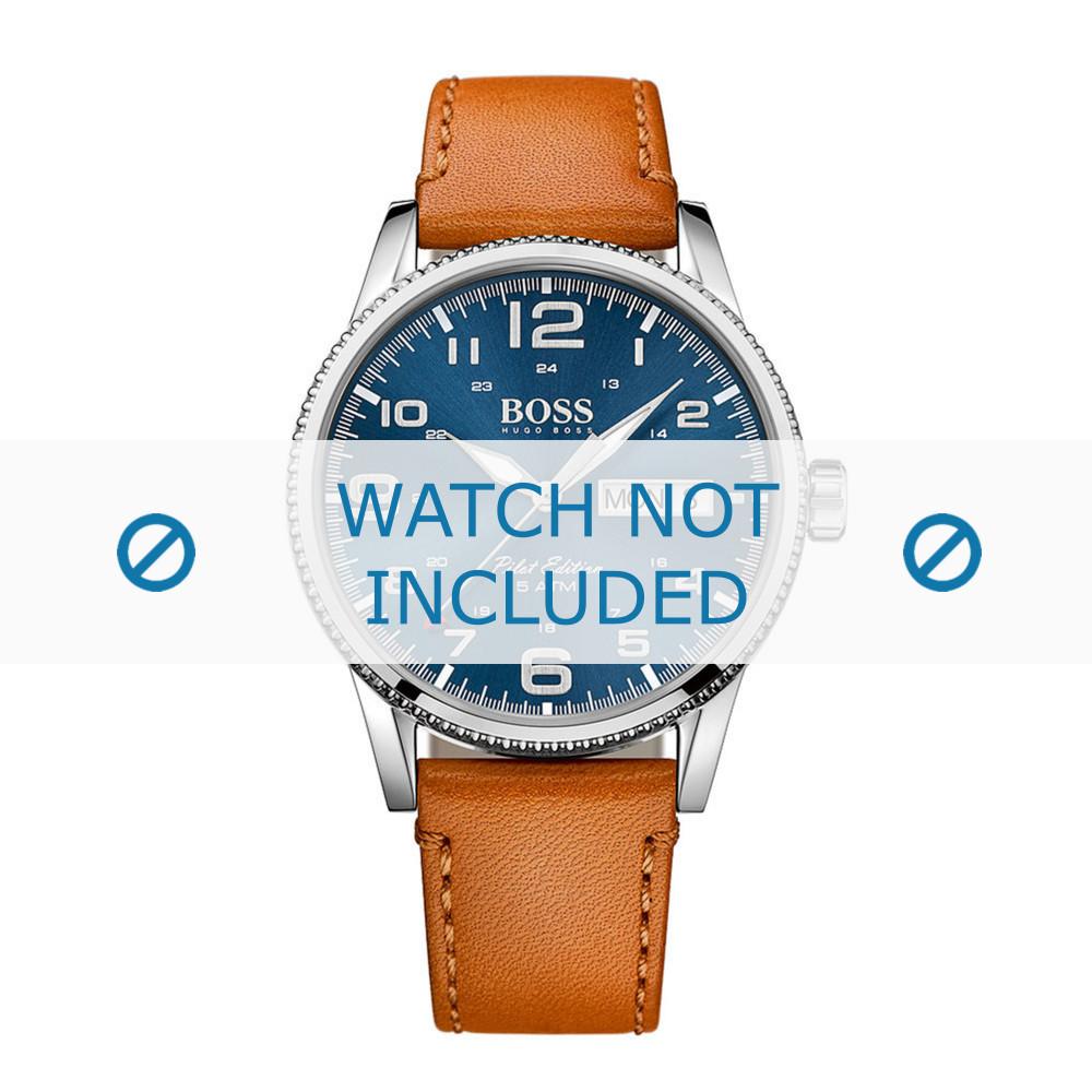 8e3a726f3284 Correa de reloj Hugo Boss HB-279-1-14-2872   HB1513331 Cuero 22mm