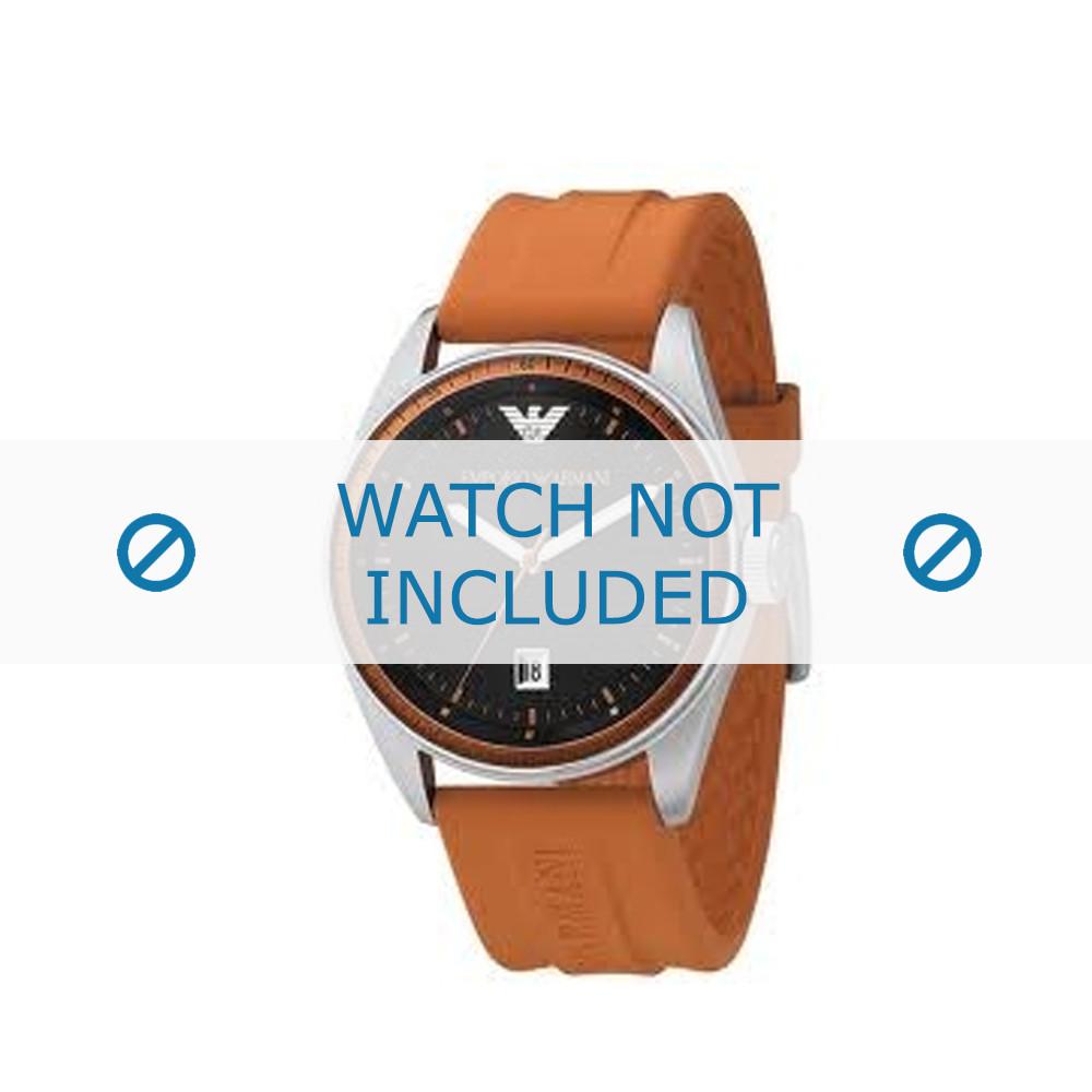 Reloj Naranja Original 0561 Correa Ar Goma De Compre Ahora Armani dthrBsQxC