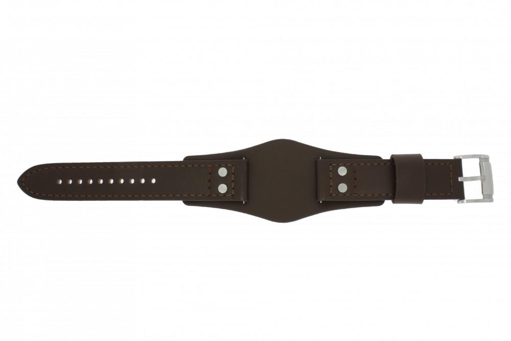 9ade15bba1e6 Fossil correa de reloj CH-2890   CH-2891 Piel Marrón 22mm