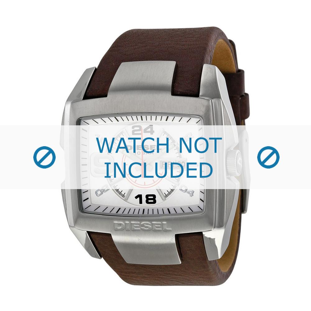 4d0fe1b9a4fe Correa de reloj Diesel DZ1273 Cuero Marrón 32mm
