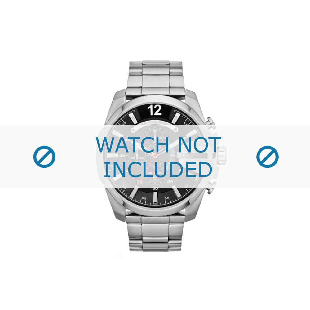 eeb589aa2d3d Diesel correa de reloj DZ4308 Metal Plateado - Ordenar ahora desde ...
