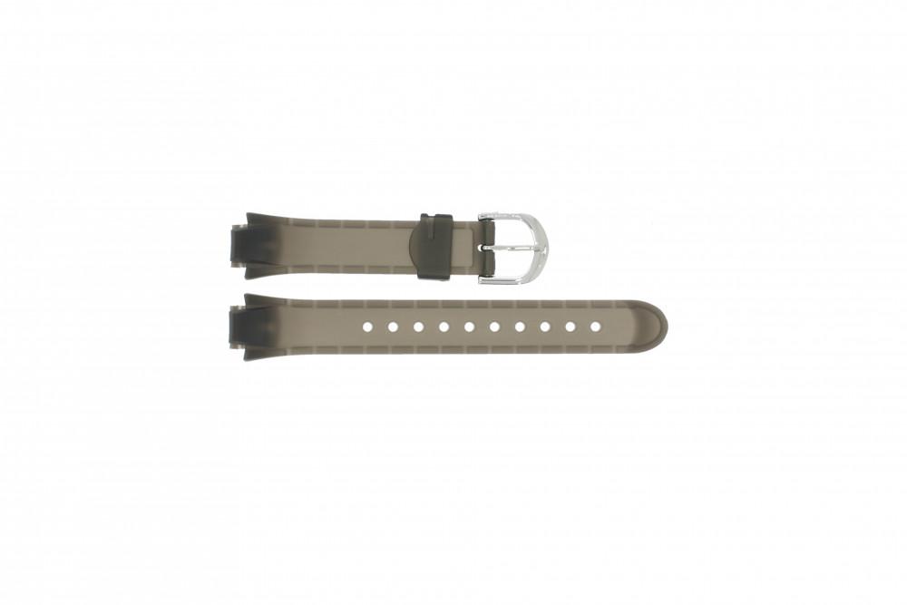 fe0d9a8a8508 Correa de reloj Timex 5K807 Caucho Negro 12mm