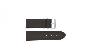 Correa de reloj Universal 306.02 Cuero Marrón 28mm