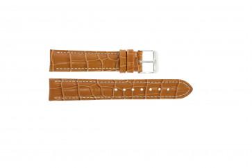 Correa de reloj Universal 285.27 Cuero Marrón 24mm