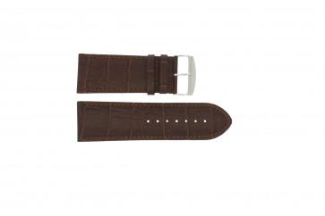 Correa de reloj Universal 305.02 Cuero Marrón 24mm