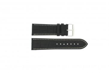 Correa de reloj 308.01 Cuero Negro 20mm
