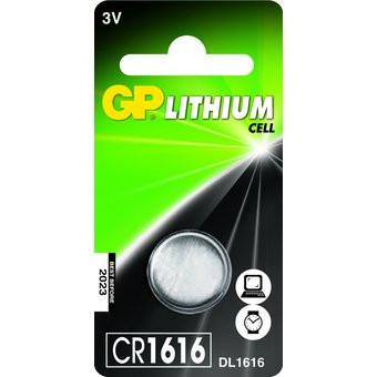 Pila de botón GP CR1616