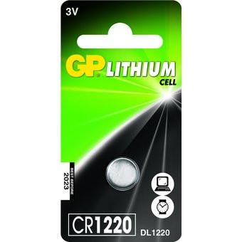 Pila de botón GP CR1220