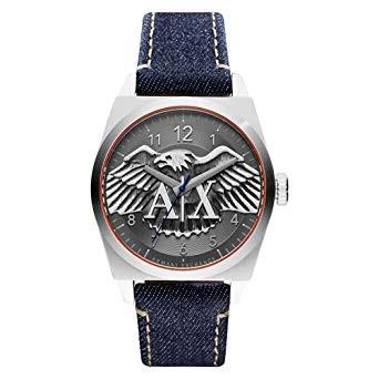 2a314b132e1 Correa de reloj Armani Exchange AX2307 Cuero Pantalones 22mm