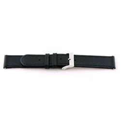 Correa de reloj Universal C100 Cuero Negro 12mm