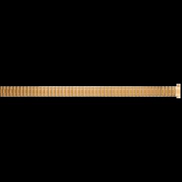 Correa de reloj Universal EB607 Acero Chapado en oro 8mm