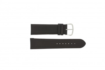 Correa de reloj WoW E.5316 Cuero Marrón oscuro 22mm