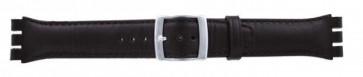 Correa para relojes Swatch marrón oscuro WP-51643-19mm