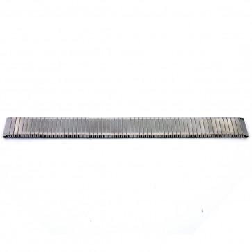 Correa de reloj V54C Metal Plateado 12mm