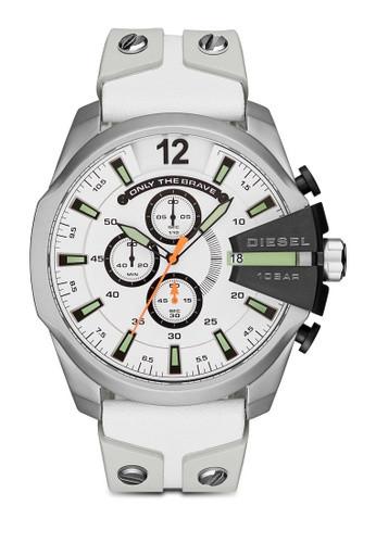 4a128724cbd2 Correa de reloj Diesel DZ4454 Cuero Blanco 26mm