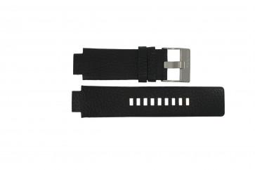 Diesel correa de reloj DZ-4146 Piel Negro 16mm
