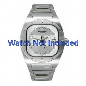 Diesel correa de reloj DZ4116 Metal Blanco 19mm