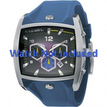 Diesel correa de reloj DZ4164 Silicona Azul  28mm