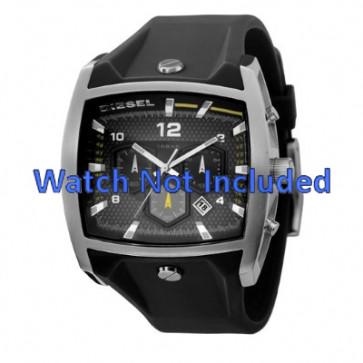 Correa de reloj Diesel DZ4165 Silicona Negro 33mm