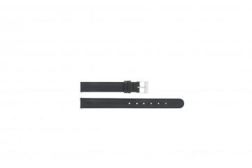 Correa de reloj C012 XL Cuero Negro 12mm + costura predeterminada
